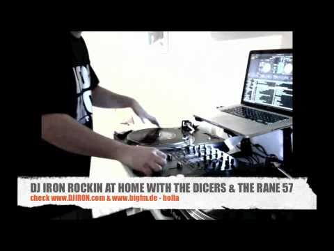 DJ IRON HOME SESSION WITH SERATO