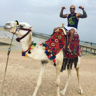 I almost fell off the Camel  while i was flexin for the Pic  . . . . #goodvibes ...