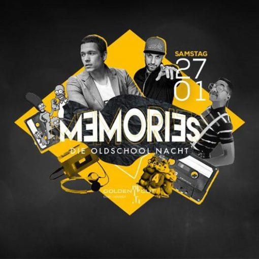 Memories geht in die nächste Runde  Am 27.01.18 gibt's wieder die Sounds der alt...