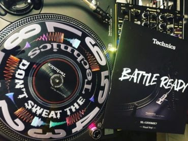 So dope diese limitierte Visual Vinyl  die Privilegen eines Technics DJ Battle C...