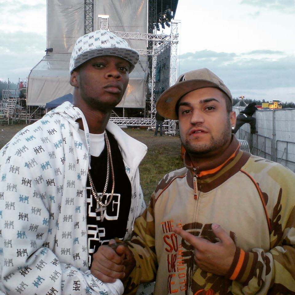 Throwback! 2007 With @papoosepapoose | Splash Festival | . . . #throwback #tbt #...